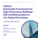 Sustainable Procurement for High-Performance Buildings: C2C Certified products in U.S. Federal Purchasing